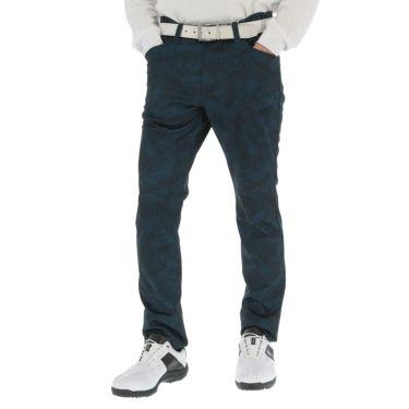 フィラ FILA メンズ 裏起毛 総柄 ボンディング ロングパンツ 789-306 2019年モデル [裾上げ対応1●] ネイビー(NV)