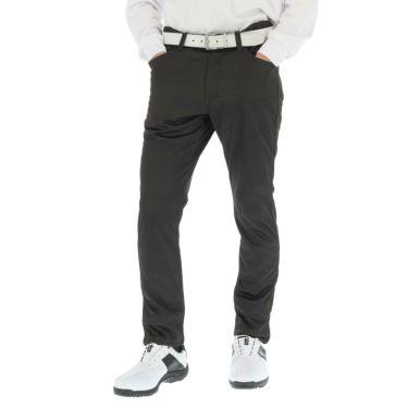 フィラ FILA メンズ 裏起毛 総柄 ボンディング ロングパンツ 789-306 2019年モデル [裾上げ対応1●] ブラックギンガム(BKG)