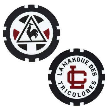 ルコック Le coq sportif メンズ ロゴ刺繍 カジノマーカー付き キャップ QGBOJC00 RD00 レッド 2019年モデル 詳細2