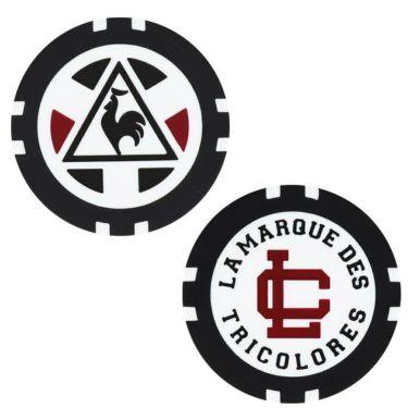 ルコック Le coq sportif メンズ ロゴ刺繍 カジノマーカー付き キャップ QGBOJC00 WH00 ホワイト 2019年モデル 詳細2