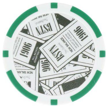 ニューバランスゴルフ カジノチップ型 マーカー 012-9284018 181 カーキ 2019年モデル 詳細1