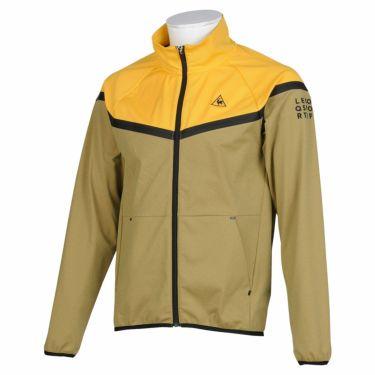 ルコック Le coq sportif メンズ 撥水 ストレッチ 長袖 フルジップ ジャケット QGMQJL53 2020年モデル イエロー(YL00)