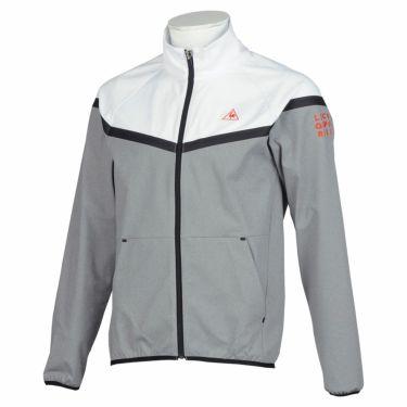 ルコック Le coq sportif メンズ 撥水 ストレッチ 長袖 フルジップ ジャケット QGMQJL53 2020年モデル ホワイト(WH00)