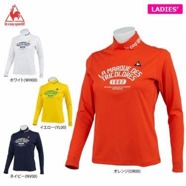 ルコック Le coq sportif レディース プリントデザイン 長袖 ハイネックシャツ QGWQJB04 2020年モデル