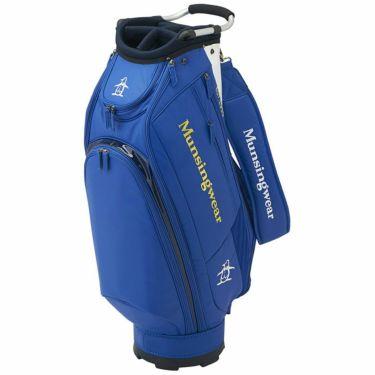 マンシングウェア Munsingwear メンズ キャディバッグ MQBQJJ00 BL00 ブルー 2020年モデル 詳細1