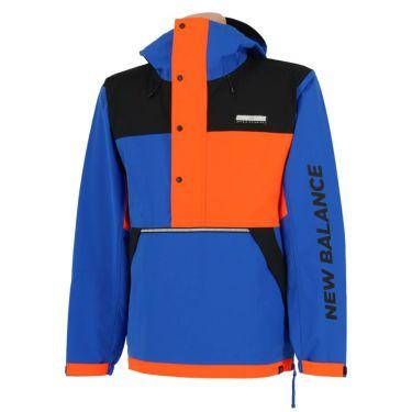 ニューバランスゴルフ メンズ 撥水 ストレッチ カラーブロック 長袖 ハーフジップ パーカー 012-0220008 2020年モデル ブルー(111)