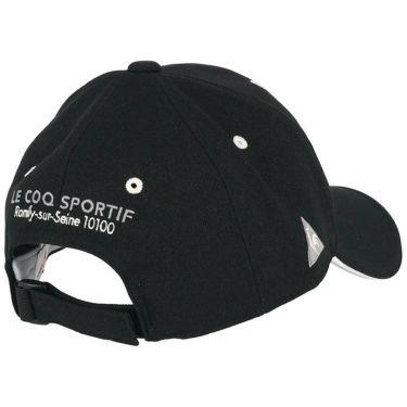 ルコック Le coq sportif メンズ ロゴ刺繍 キャップ QGBQJC04 BK00 ブラック 2020年モデル 詳細1