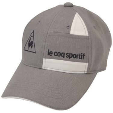 ルコック Le coq sportif メンズ 切替デザイン キャップ QGBQJC05 GY00 グレー 2020年モデル グレー(GY00)