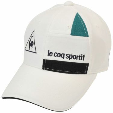 ルコック Le coq sportif メンズ 切替デザイン キャップ QGBQJC05 WH00 ホワイト 2020年モデル ホワイト(WH00)