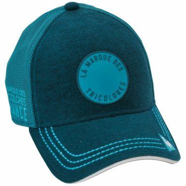 ルコック Le coq sportif メンズ ハイブリッド メッシュ キャップ QGBQJC07 BL00 ブルー 2020年モデル ブルー(BL00)