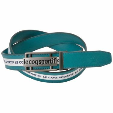 ルコック Le coq sportif メンズ ロゴテープ フィットバックル ベルト QGBQJH04 BL00 ブルー 2020年モデル ブルー(BL00)