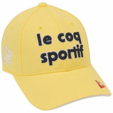 ルコック Le coq sportif レディース 立体刺繍ロゴ コットンツイル キャップ QGCQJC00 YL00 イエロー 2020年モデル イエロー(YL00)