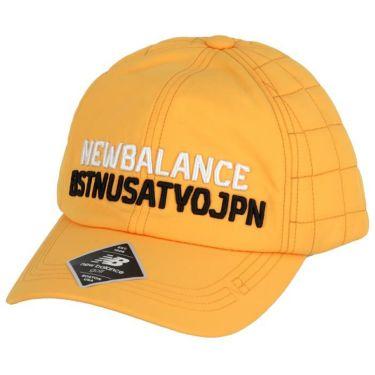 ニューバランスゴルフ ユニセックス SPORT ロゴ刺繍入り キルティング キャップ 012-0287005 151 オレンジ 2020年モデル オレンジ(151)