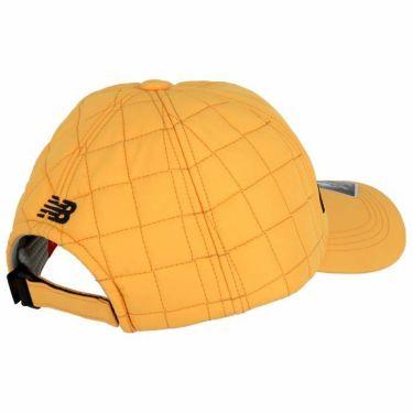 ニューバランスゴルフ ユニセックス SPORT ロゴ刺繍入り キルティング キャップ 012-0287005 151 オレンジ 2020年モデル 詳細1