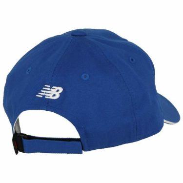 ニューバランスゴルフ ユニセックス METRO 立体ロゴ刺繍入り 6パネル コットンツイル キャップ 012-0287010 111 ブルー 2020年モデル 詳細1