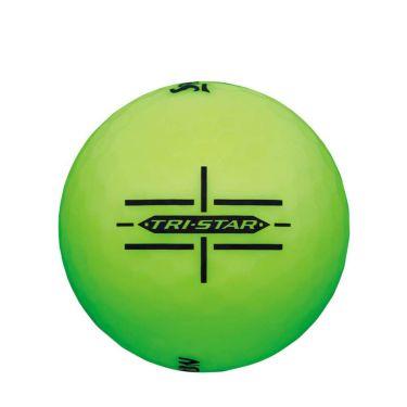 ダンロップ スリクソン TRI-STAR トライスター 2020年モデル ゴルフボール 1ダース(12球入り) ブライトマルチカラー グリーン サイド
