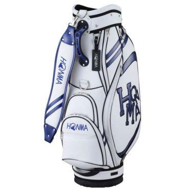 本間ゴルフ ダンシングホンマ ロゴ メンズ キャディバッグ CB-12015 WH/NY ホワイト/ネイビー 2020年モデル ホワイト/ネイビー(WH/NY)