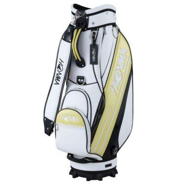 本間ゴルフ スポーツモデル メンズ キャディバッグ CB-12016 WH/YE ホワイト/イエロー 2020年モデル ホワイト/イエロー(WH/YE)