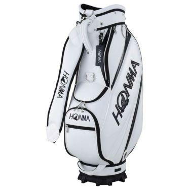 本間ゴルフ シンプルデザイン メンズ キャディバッグ CB-12023 WH/BK ホワイト/ブラック 2020年モデル ホワイト/ブラック(WH/BK)