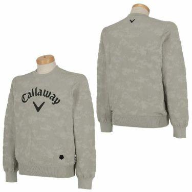 キャロウェイ Callaway メンズ 撥水 編地柄 長袖 クルーネック セーター 241-0218503 2020年モデル 詳細3