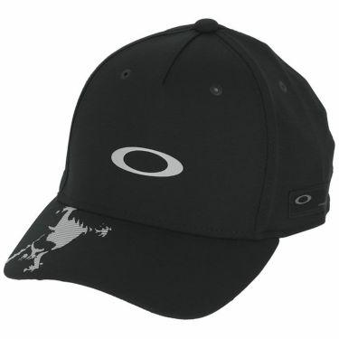 オークリー OAKLEY メンズ SKULL CAP 14.0 FW ロゴプリント キャップ FOS900439 02E 2020年モデル ブラックアウト(02E)