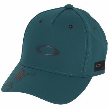 オークリー OAKLEY メンズ SKULL CAP 14.0 FW ロゴプリント キャップ FOS900439 61G 2020年モデル マリンブルー(61G)