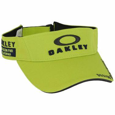 オークリー OAKLEY メンズ BG VISOR 14.0 FW 立体ロゴ刺繍入り サンバイザー FOS900442 7LA 2020年モデル ゴールデンライム(7LA)