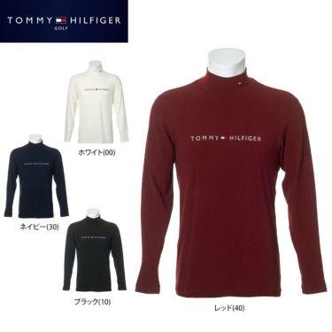 トミー ヒルフィガー ゴルフ メンズ ロゴ刺繍 長袖 ハイネックシャツ THMA072 2020年モデル 詳細1