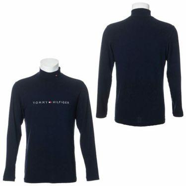 トミー ヒルフィガー ゴルフ メンズ ロゴ刺繍 長袖 ハイネックシャツ THMA072 2020年モデル 詳細3