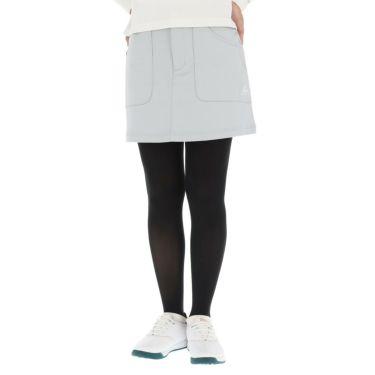 ルコック Le coq sportif レディース ロゴ刺繍 ストレッチ スカート QGWQJE01 2020年モデル グレー(GY00)