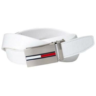 トミー ヒルフィガー ゴルフ スライドロック ストレッチ ベルト THMB0FV1 00 ホワイト 2020年モデル ホワイト(00)