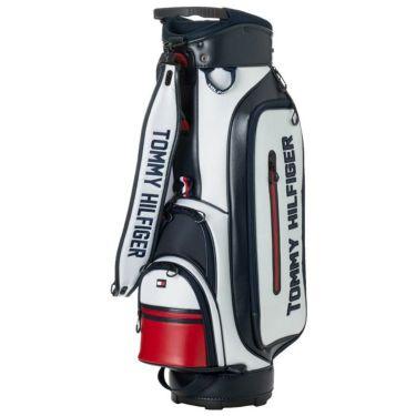 トミー ヒルフィガー ゴルフ ロゴ キャディバッグ THMG0FC5 90 トリコロール 2020年モデル トリコロール(90)