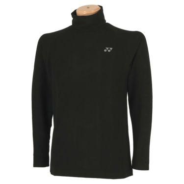 ヨネックス YONEX メンズ 起毛生地 ロゴ刺繍 長袖 タートルネックシャツ GWF1580 2019年モデル ブラック(007)