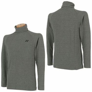 ヨネックス YONEX メンズ 起毛生地 ロゴ刺繍 長袖 タートルネックシャツ GWF1580 2019年モデル 詳細3