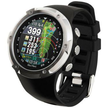 ショットナビ Shot Navi W1 Evolve エボルブ 腕時計型GPSゴルフナビ ブラック ブラック