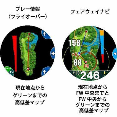 ショットナビ Shot Navi W1 Evolve エボルブ 腕時計型GPSゴルフナビ ブラック 詳細6