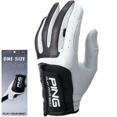 ピン PING メンズ ワンサイズ ゴルフグローブ 左手用 GL-P203LH White/Black 2020年モデル White/Black