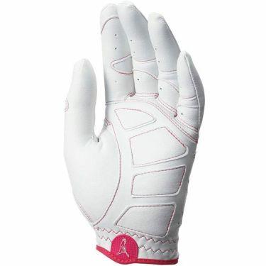 ピン PING レディース ワンサイズ ゴルフグローブ 左手用 GL-L201LH White/Pink 2020年モデル 詳細1
