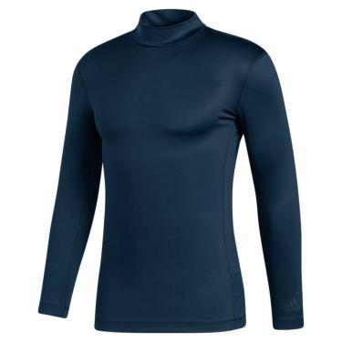 アディダス adidas メンズ ストレッチ 長袖 モックネックシャツ INS46 2020年モデル カレッジネイビー(FS7030)