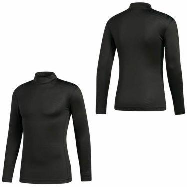 アディダス adidas メンズ ストレッチ 長袖 モックネックシャツ INS46 2020年モデル 詳細3