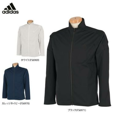 アディダス adidas メンズ ロゴプリント ストレッチ 長袖 フルジップ ジャケット INS86 2020年モデル 詳細1