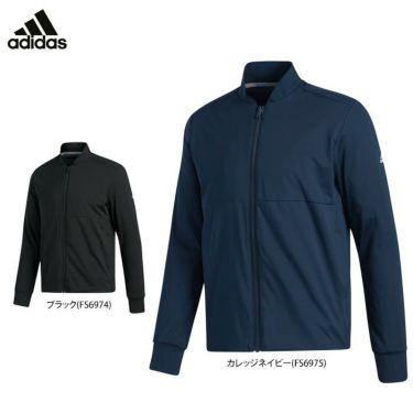 アディダス adidas メンズ 裏起毛 ストレッチ 長袖 フルジップ ジャケット INS87 2020年モデル 詳細1