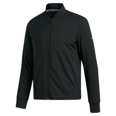 アディダス adidas メンズ 裏起毛 ストレッチ 長袖 フルジップ ジャケット INS87 2020年モデル ブラック(FS6974)