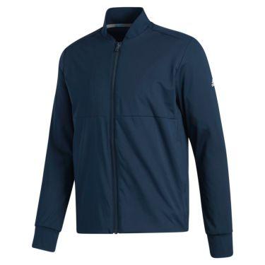 アディダス adidas メンズ 裏起毛 ストレッチ 長袖 フルジップ ジャケット INS87 2020年モデル カレッジネイビー(FS6975)