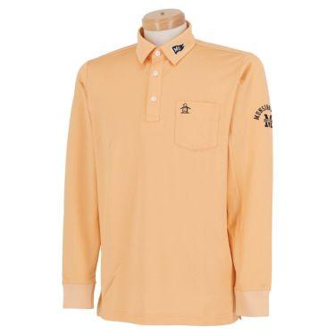 マンシングウェア Munsingwear メンズ ロゴ刺繍 長袖 ポロシャツ MGMQJB03X 2020年モデル オレンジ(OR00)