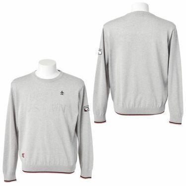 マンシングウェア Munsingwear メンズ ロゴモチーフ 長袖 クルーネック セーター MGMQJL01 2020年モデル 詳細3
