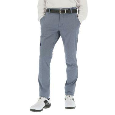アディダス adidas メンズ シャンブレー ストレッチ ロングパンツ 60488 2020年モデル [裾上げ対応1●] カレッジネイビー(GP5606)