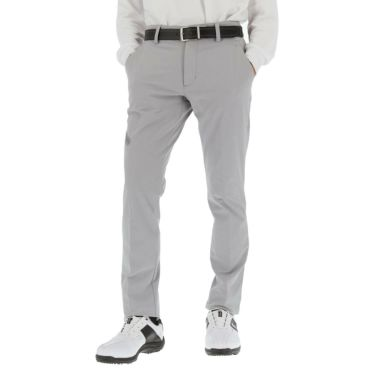 アディダス adidas メンズ シャンブレー ストレッチ ロングパンツ 60488 2020年モデル [裾上げ対応1●] グレースリー(GP5605)