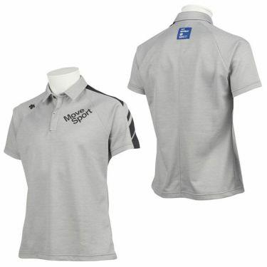 デサントゴルフ DESCENTE GOLF メンズ 配色切替 鹿の子 半袖 ラグランスリーブ ポロシャツ DGMQJA07 2020年モデル 詳細3