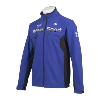 デサントゴルフ DESCENTE GOLF メンズ 撥水 ストレッチ 配色切替 長袖 フルジップ ジャケット DGMQJK07 2020年モデル ブルー(BL00)